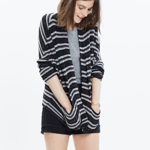 Madewell upbeat open cardigan - size xs/s